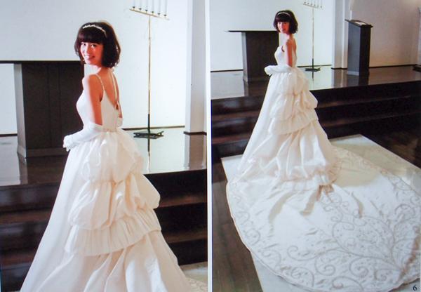 安田 美沙子 ウェディングドレス レンタル
