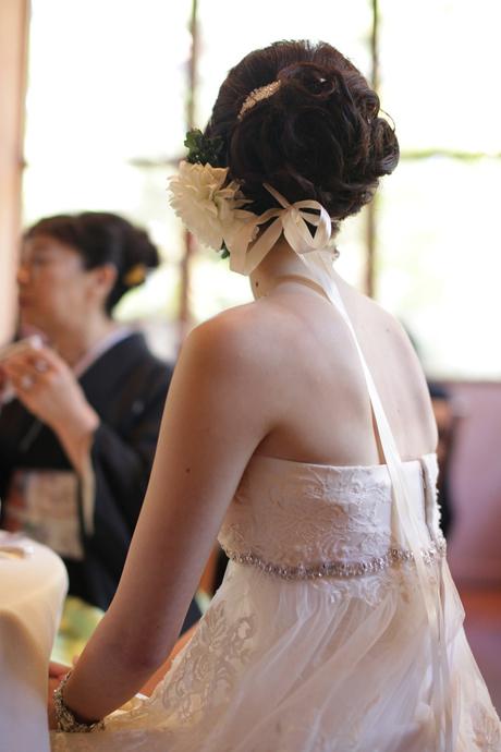 ウェディングドレス アクセサリー