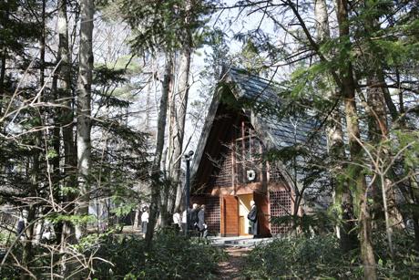 軽井沢高原教会結婚式