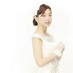 松尾翠アナ ウェディングドレス