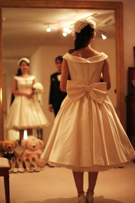 二次会ウェディングドレス