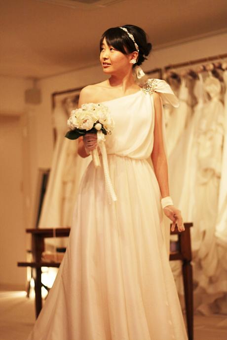 天使のようなドレス