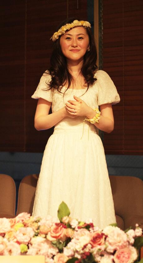 オーガニックコットン ウェディングドレス