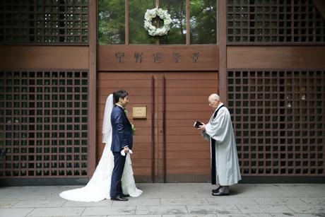 軽井沢高原教会 挙式