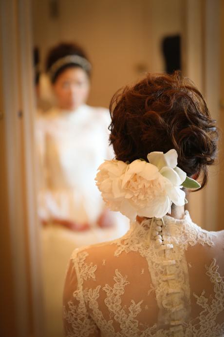 長袖 ウェディングドレス
