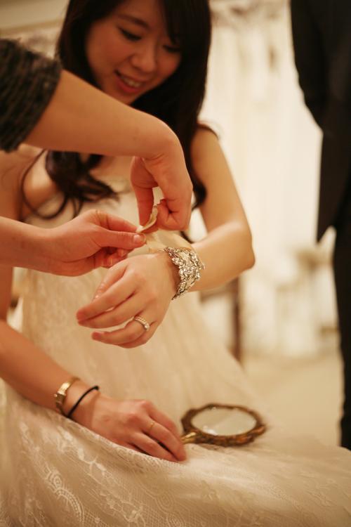 軽井沢高原教会 一番人気 ドレス