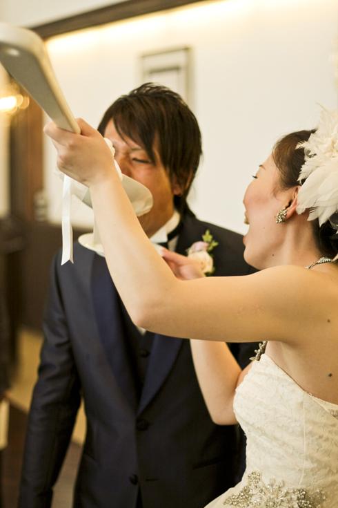 温かい結婚式