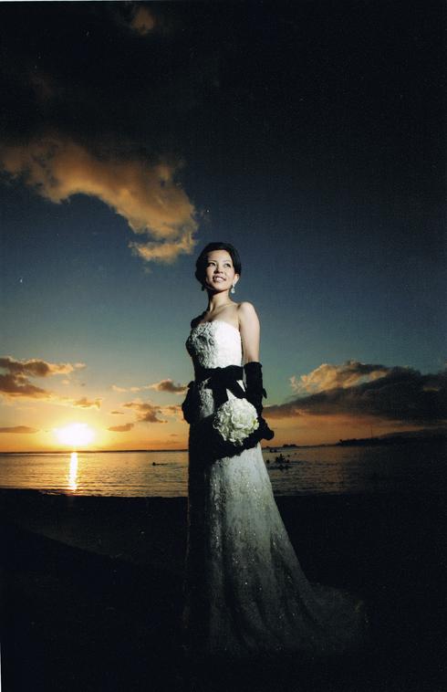 オアフ島 人気 ウェディングドレス