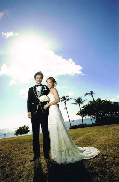 オアフ島 海沿い 結婚式