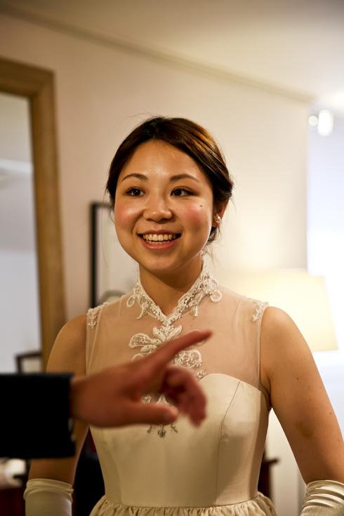 横浜 ホテルニューグランド ウェディングドレス