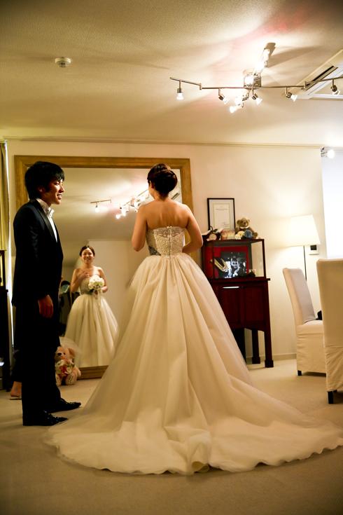 ホテルニューグランド 高級 ウェディングドレス