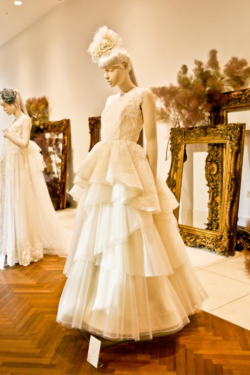アンダーズ東京 ウェディングドレス