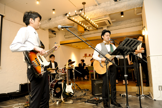 blue note 結婚式