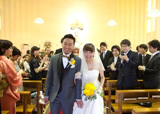 名古屋 南山教会 ウェディング
