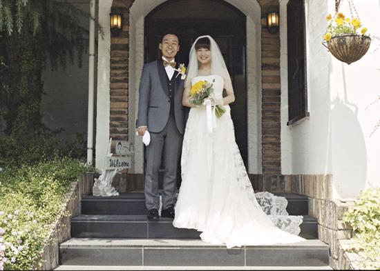 名古屋 ゴージャス ウェディングドレス