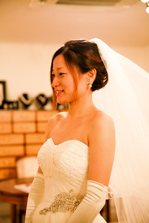 パレスホテル 東京 ゴージャス ウェディングドレス