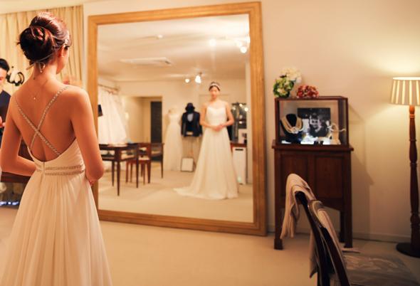 湘南 結婚式 ウェディングドレス