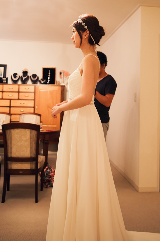 アパレル デザイン ウェディングドレス