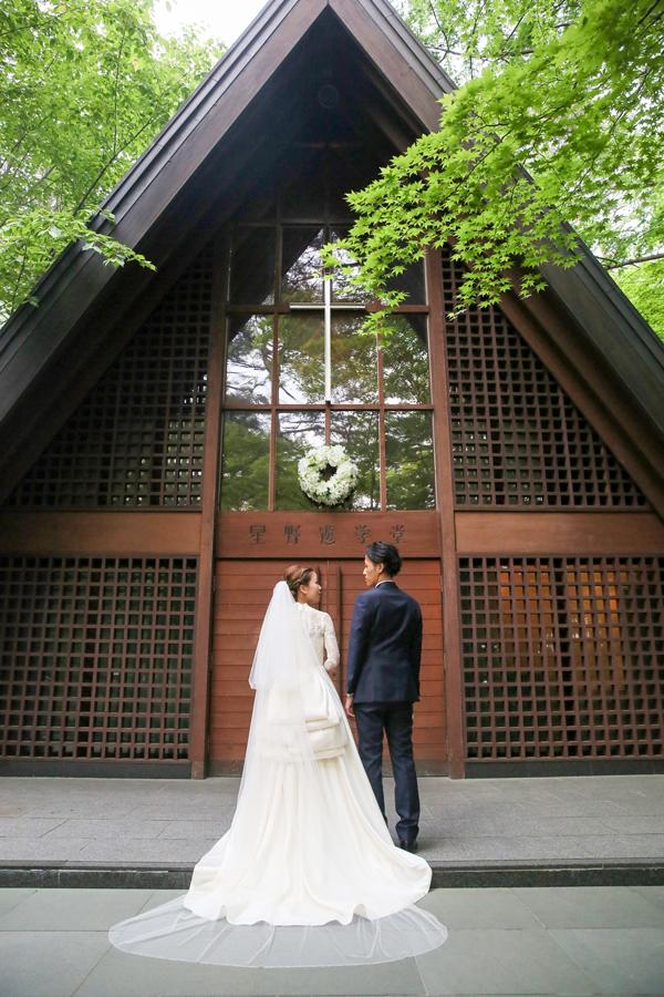 軽井沢高原教会 人気ドレス