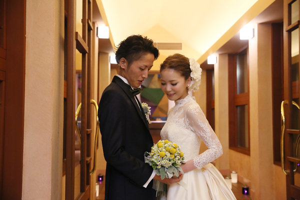 東京 ウェディングドレス レンタル ホテルブレストンコート