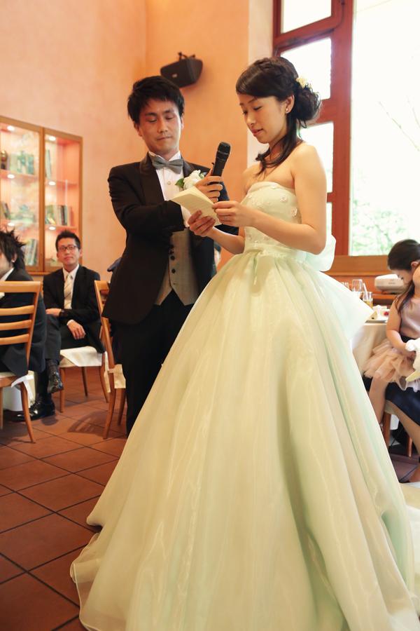 オシャレ 花嫁 ウェディングドレス