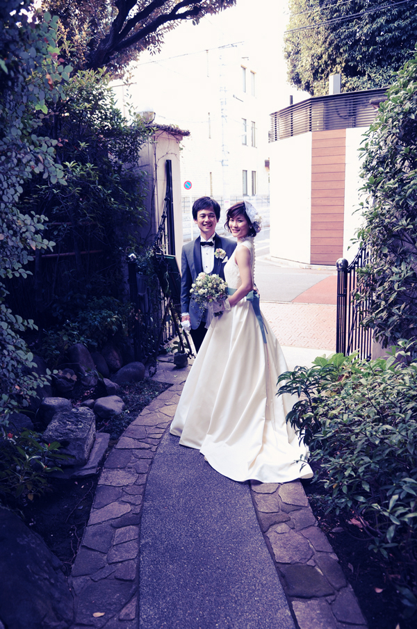 東京 花嫁 人気 ウェディングドレス