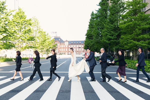 東京 オシャレ ウェディングドレス