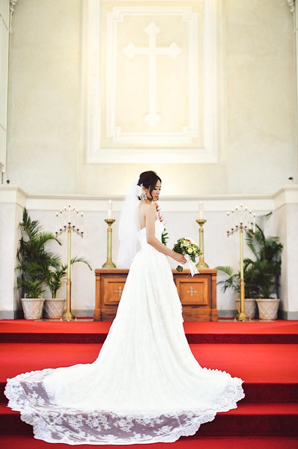ハワイ 結婚式 ウェディングドレス レンタル