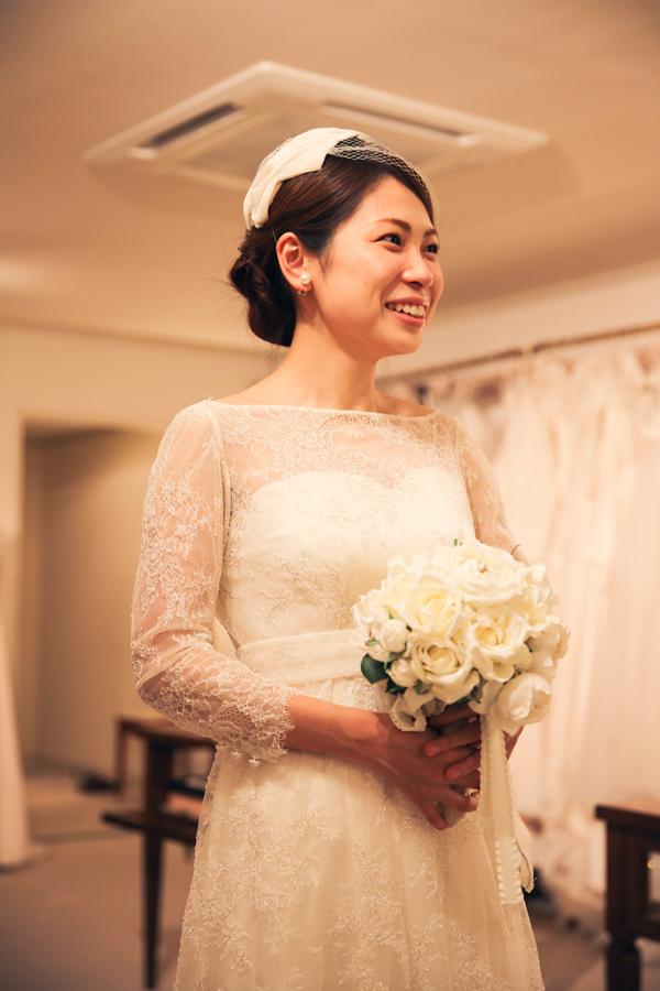こだわり 花嫁 ウェディングドレス
