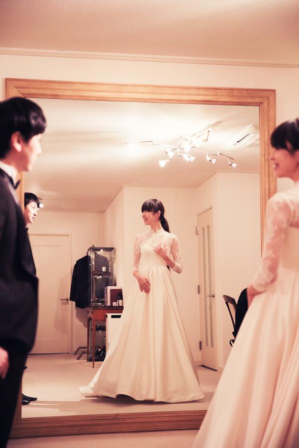 軽井沢高原教会 ウェディングドレス