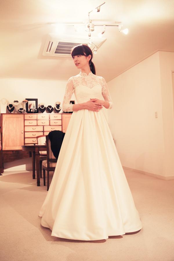 クラシカル 高貴 ウェディングドレス