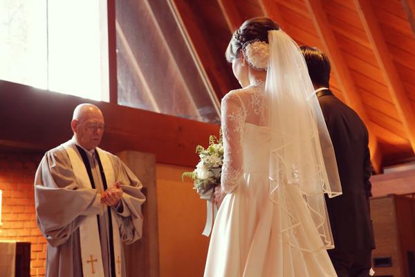 リーズナブル オシャレ ウェディングドレス