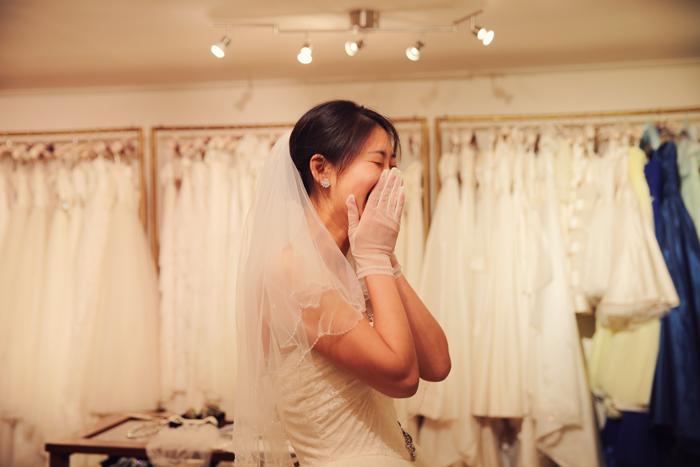 本当に素敵な花嫁
