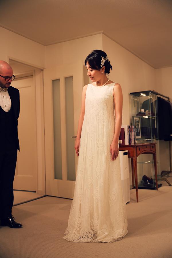 素敵 クラシカル ウェディングドレス