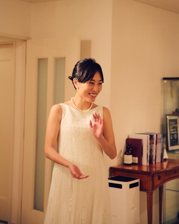 お洒落 シンプル ウェディングドレス