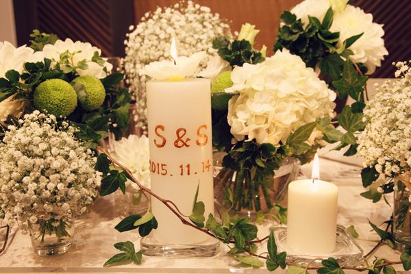 オシャレな装飾 結婚式