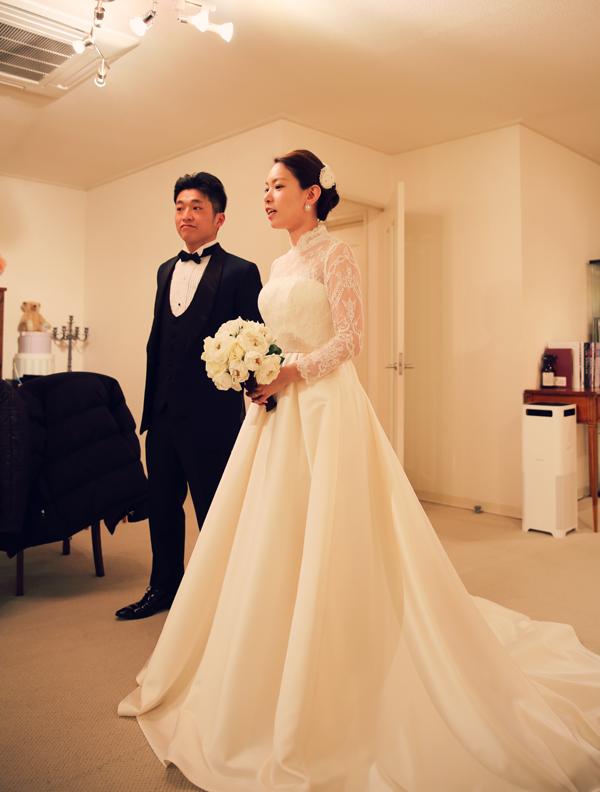 箱根 結婚式 オシャレ ドレス