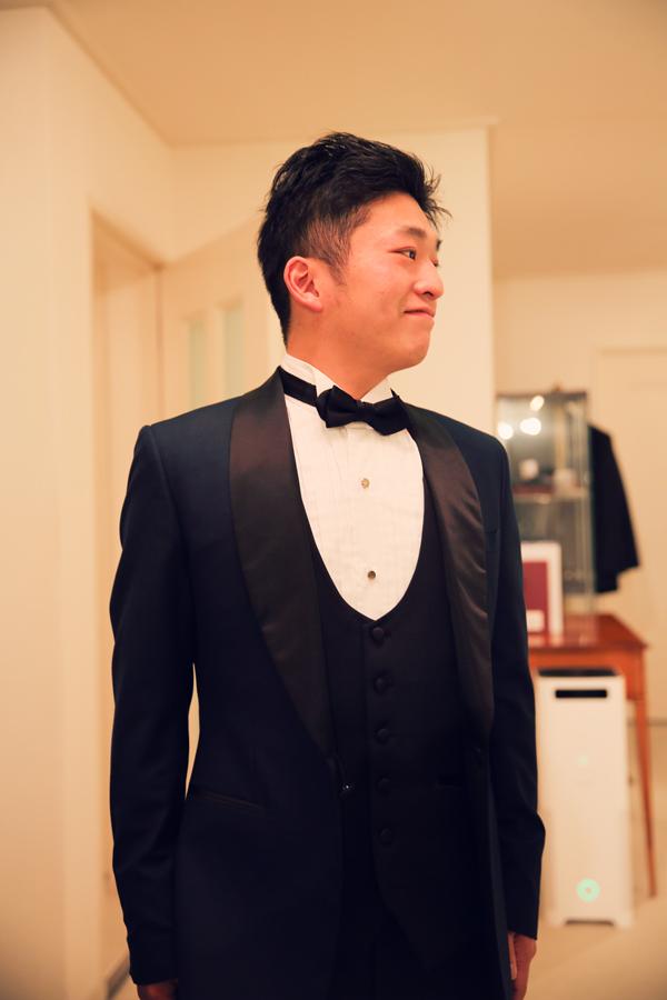 富士屋ホテル 新郎 衣装