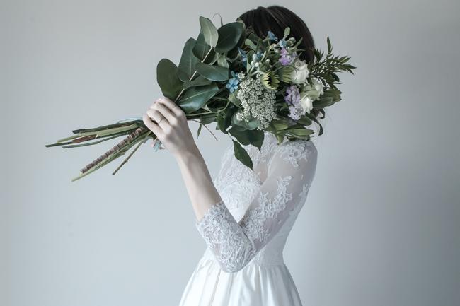結婚式後 写真 オシャレ