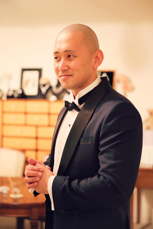 ネイビー タキシード オシャレ