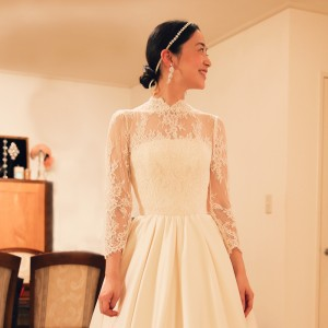 八芳園 選ばれている ウェディングドレス