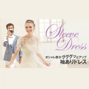 長袖 オシャレ ウェディングドレス