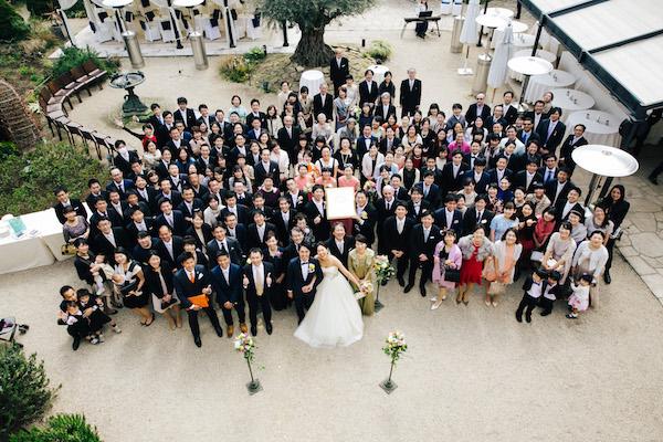 ゲスト 大人数 結婚式