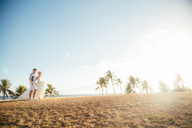 ハワイ 合う ウェディングドレス