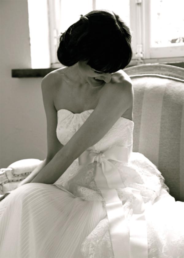 クラシック ウェディングドレス
