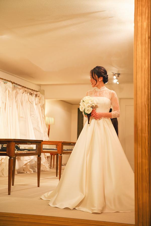 明治神宮 ウェディングドレス