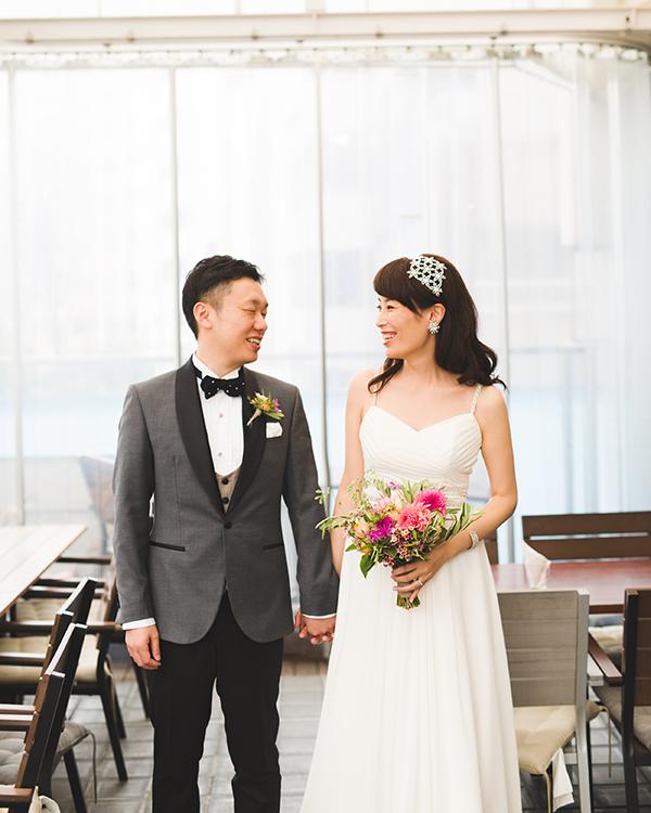 おしゃれ 花嫁 選ぶ ウェディングドレス