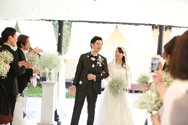 おしゃれ 花嫁 ウェディングドレス