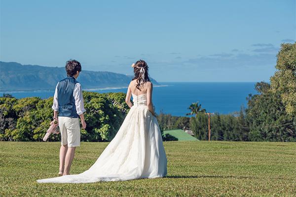 ハワイウェディング おすすめドレス