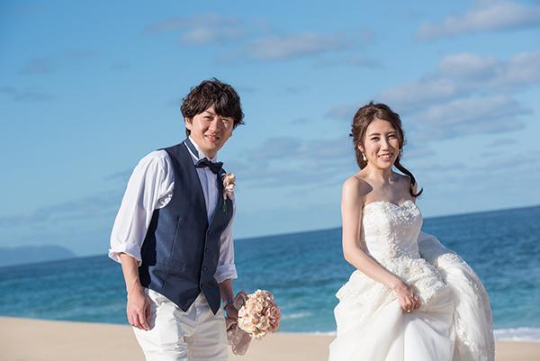 ハワイ ビーチフォト ドレス